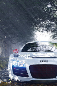320x568 Audi R8 Special Edition