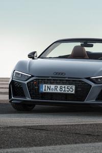 Audi R8 Spyder V10 2019 4k
