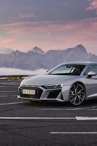 480x800 Audi R8 V10 RWD Coupe 2019 New