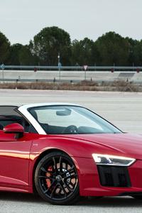 Audi R8 V10 Spyder RWS 2018