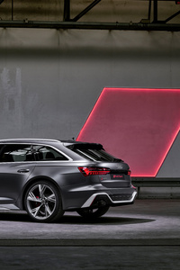 540x960 Audi RS 6 Avant 2019 Rear