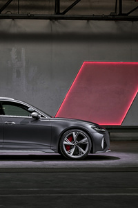 540x960 Audi RS 6 Avant Side View