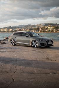 360x640 Audi RS4 Avant 4k