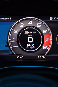 Audi Rs5 Speedometer