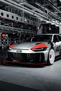 1242x2688 Audi RS6 GTO Concept 2020