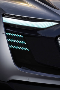 Audi Sportback Etron Concept Car