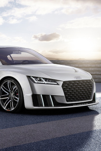 480x800 Audi TT Clubsport Turbo Concept 2020