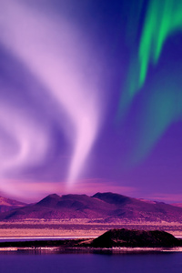 Aurora Borealis Beautiful View