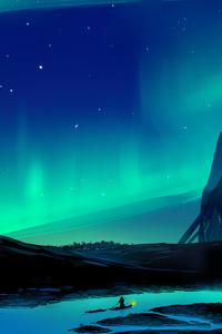 Aurora Borealis Town 5k