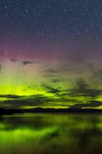 540x960 Aurora Borealis Vancouver Island 8k