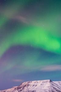 Aurora Green Island 4k