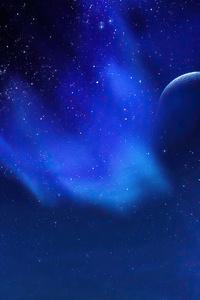 640x1136 Aurora Night Sky Trees The Elder Scrolls V Skyrim 4k
