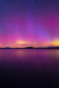 480x854 Aurorare Landscape 8k
