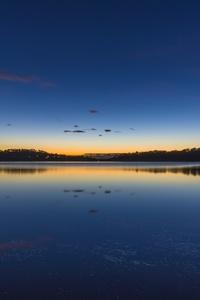 Australia Lake Silent Morning 4k