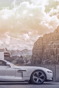 1080x2280 Austro Daimler Bergmeister Adr 630 Shooting Grand Side View 8k