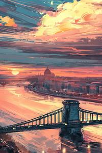 Autumn In Budapest 4k