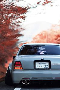 480x800 Autumn Ride Car 4k