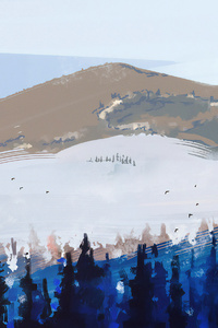 Avalanches 4k