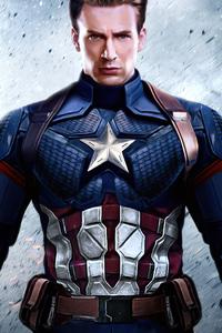 480x800 Avengers 4 Captain America 4k