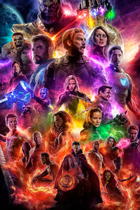 1080x2160 Avengers 4 End Game 2019