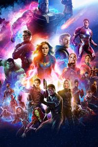 1242x2688 Avengers 4 Movie