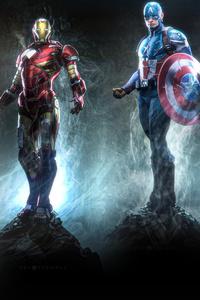 1080x2160 Avengers 4k Art