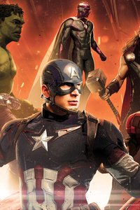 Avengers Age Of Ultron 5k Poster