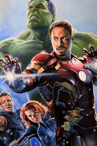 Avengers Age Of Ultron Artwork 5k