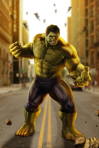 Avengers Age Of Ultron Hulk Artwork
