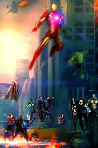 Avengers And Agents Of Shield