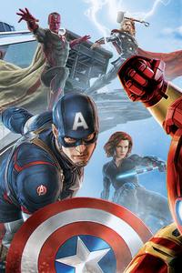 640x960 Avengers Artwork 5k