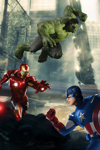 Avengers Assemble Artwork 4k