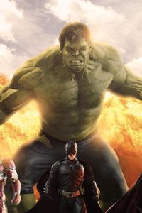 Avengers Batman Superman