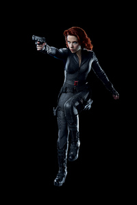 720x1280 Avengers Black Widow 8k