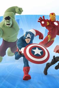 240x320 Avengers Disney Infinity 12K