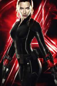 720x1280 Avengers End Game Black Widow