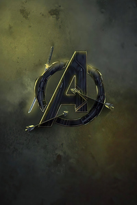 720x1280 Avengers End Game Mcu Logo 4k