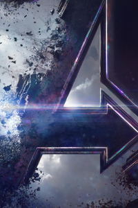 800x1280 Avengers End Game Poster