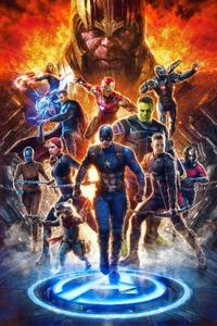 Avengers End Game Superheroes