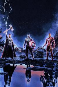 720x1280 Avengers Endgame 2019 4K
