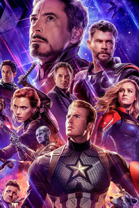 Avengers Endgame 2019 Official New Poster