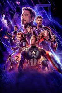 1125x2436 Avengers Endgame 2019 Official Poster