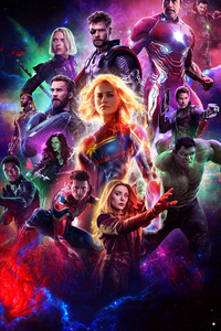 1080x2160 Avengers Endgame 2019