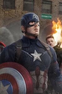 Avengers Endgame 4k Team
