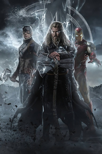 640x960 Avengers Endgame Artwork 2020