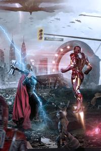 240x320 Avengers Endgame Assemble 4k 2019