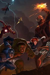 Avengers Endgame Assemble 4k