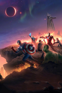Avengers Endgame China Poster