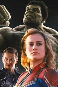 Avengers Endgame Heroes