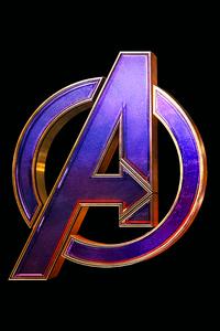 1080x2280 Avengers Endgame Logo 4k